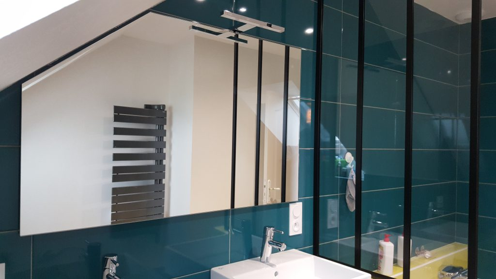 Salle de bain mobilier découpé sur mesure AG2P